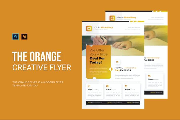 Thumbnail for Orange - Flyer