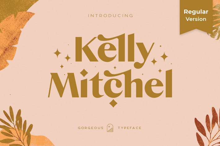 Thumbnail for Kelly Regular - Gorgeous Sans Serif
