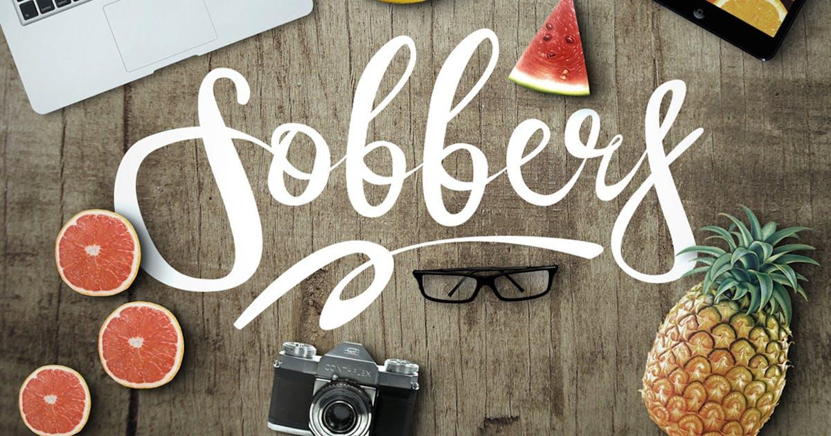 Download Sobbers Typeface by maulanacreative