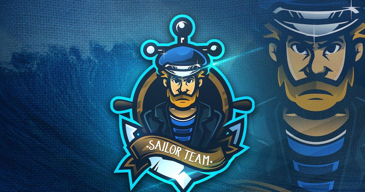 Download Sailor Team - Mascot & Esport Logo by aqrstudio