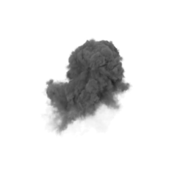 Smoke from Explosion