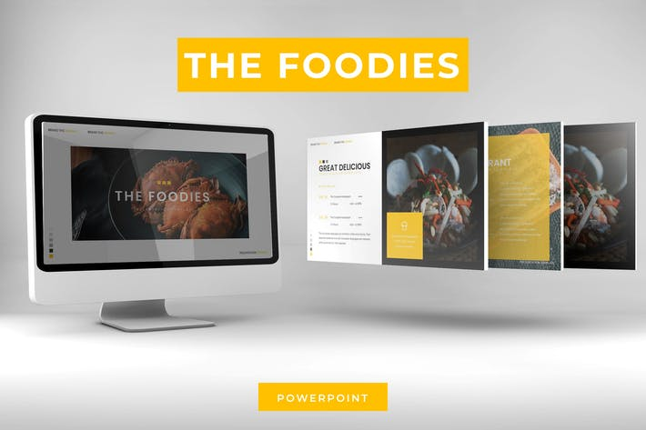 Thumbnail for The Foodies - Powerpoint Template