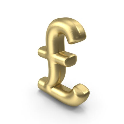 Currency Symbol Pound Gold