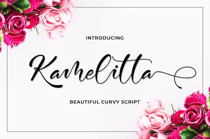 Thumbnail for Kamelitta - Beautiful Script