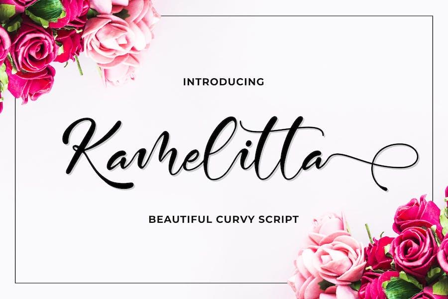 Kamelitta - Beautiful Script