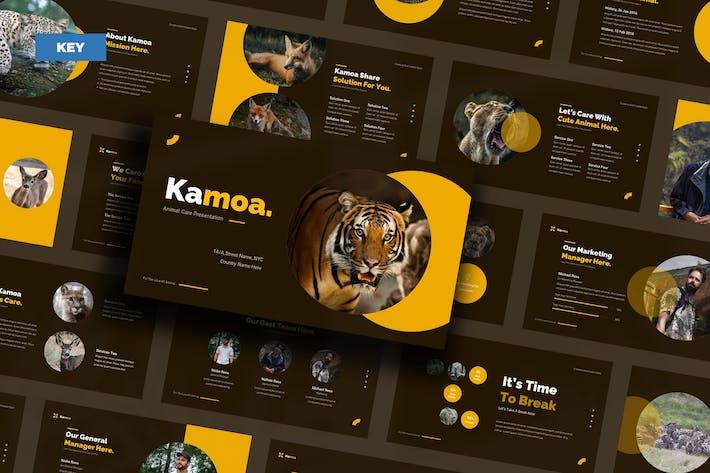 Уход за животными Kamoa - Keynote UP
