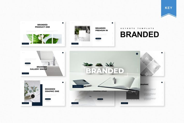 Thumbnail for The Branded | Keynote Template