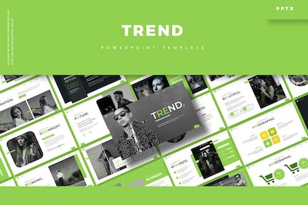 Trend - Powerpoint Template