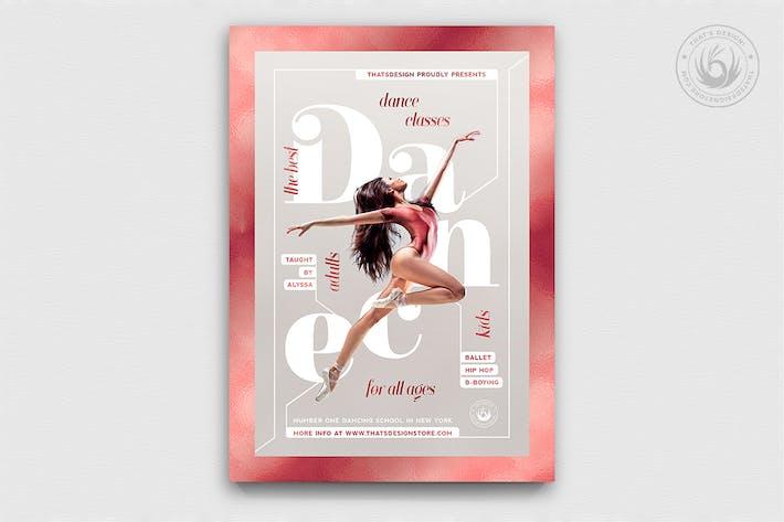 Thumbnail for Dance Classes Flyer Template V4