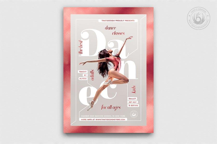 Dance Classes Flyer Template V4