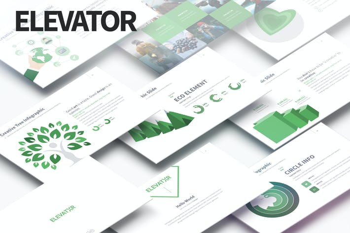 Thumbnail for ELEVATOR - Multipurpose PowerPoint Presentation