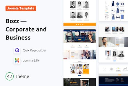 Bozz — Corporate and Business Responsive Template