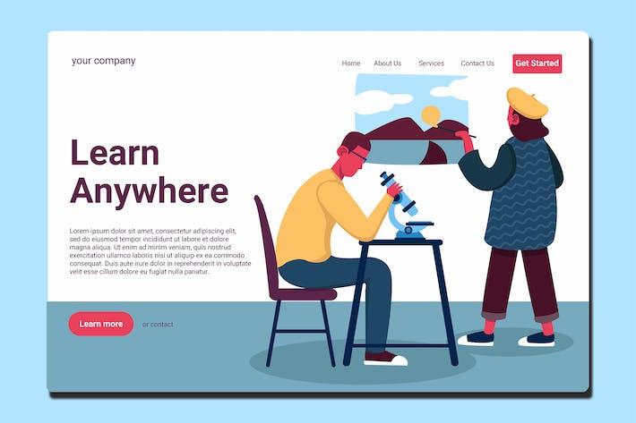 Teacher - Landing Page