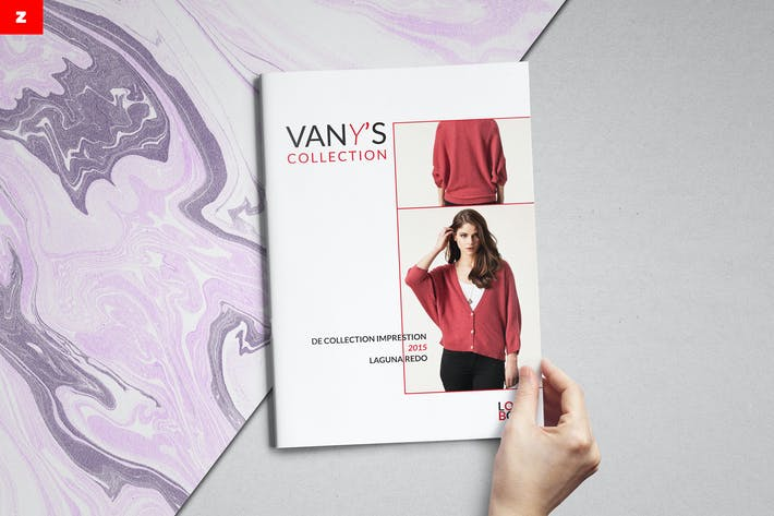 Vanys Lookbook Brochure