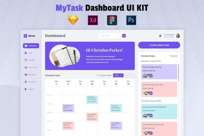 Task Management Dashboard - Nuzie