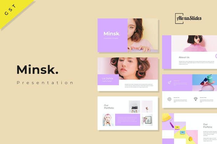 Thumbnail for Minsk - Google Slides Presentation Template