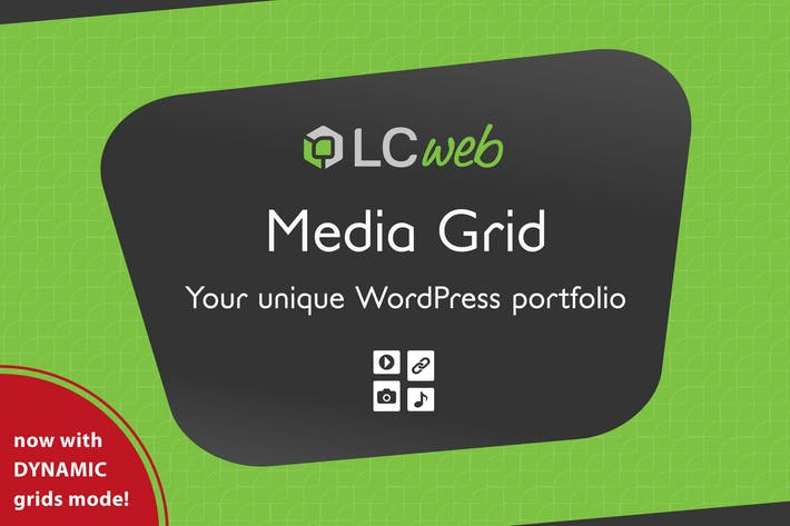 Thumbnail for Media Grid - Wordpress Responsive Portfolio