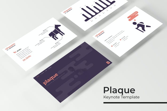 Thumbnail for Plaque - Keynote Template