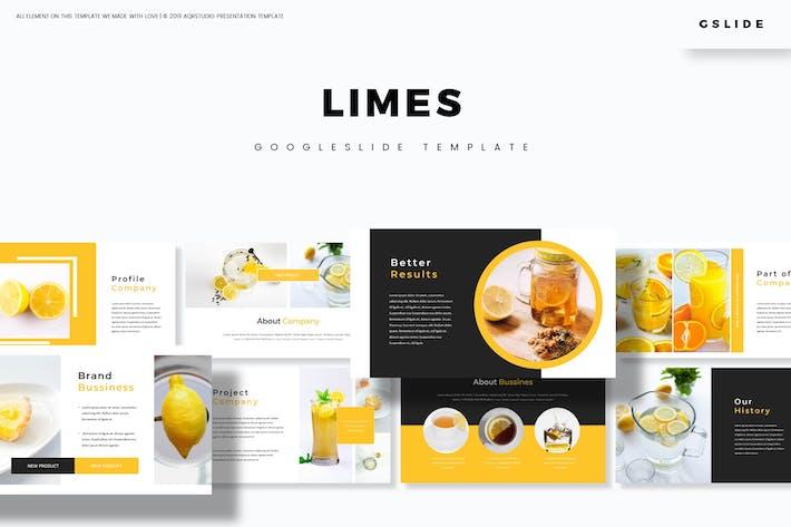 Thumbnail for Limes  - Google Slides Template