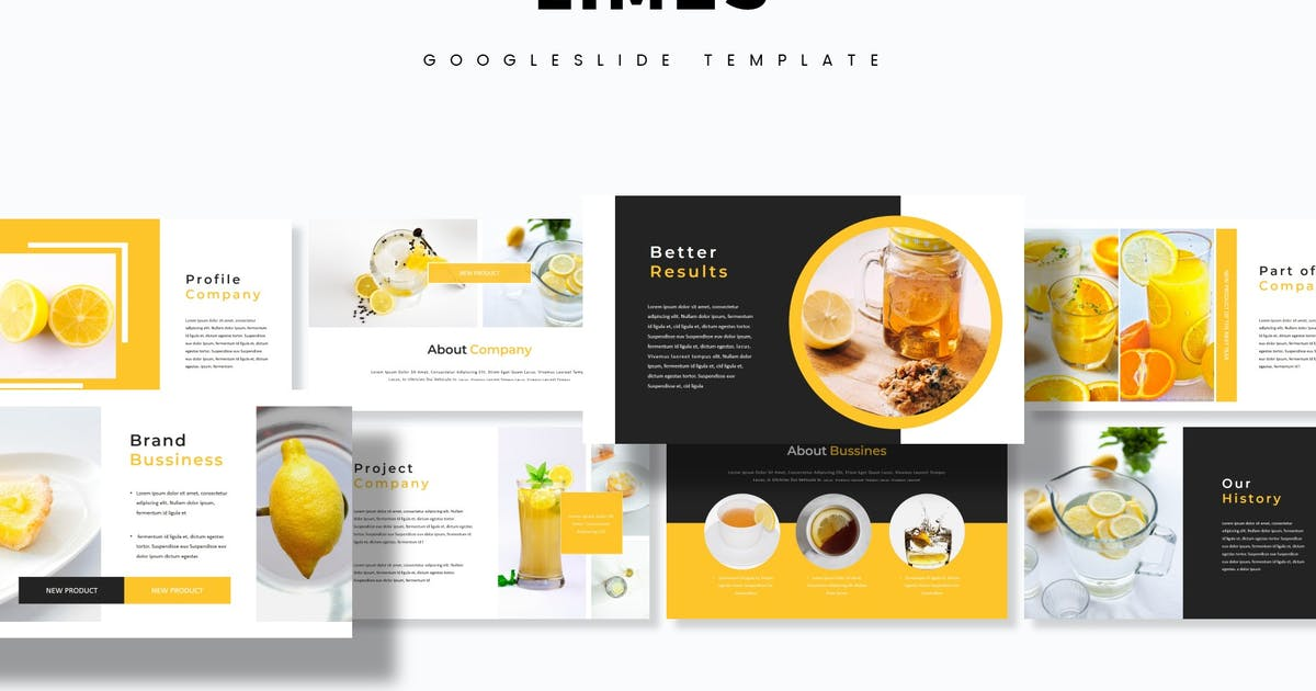 Download Limes  - Google Slides Template by aqrstudio