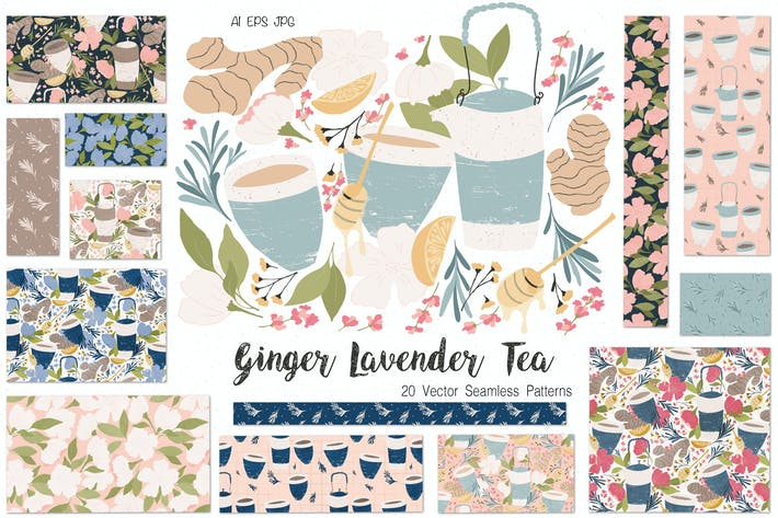 Thumbnail for Ginger Lavender Tea
