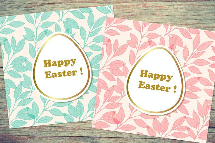 Thumbnail for Floral Easter Cards