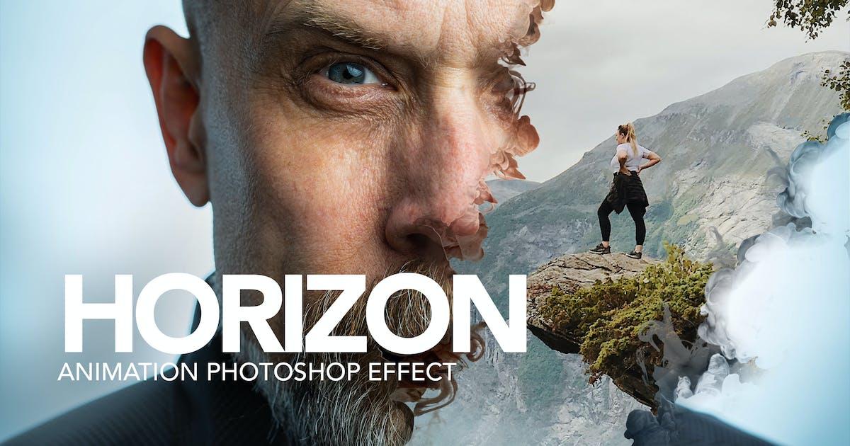 Download Gif Animated Horizon Photoshop Action by sreda