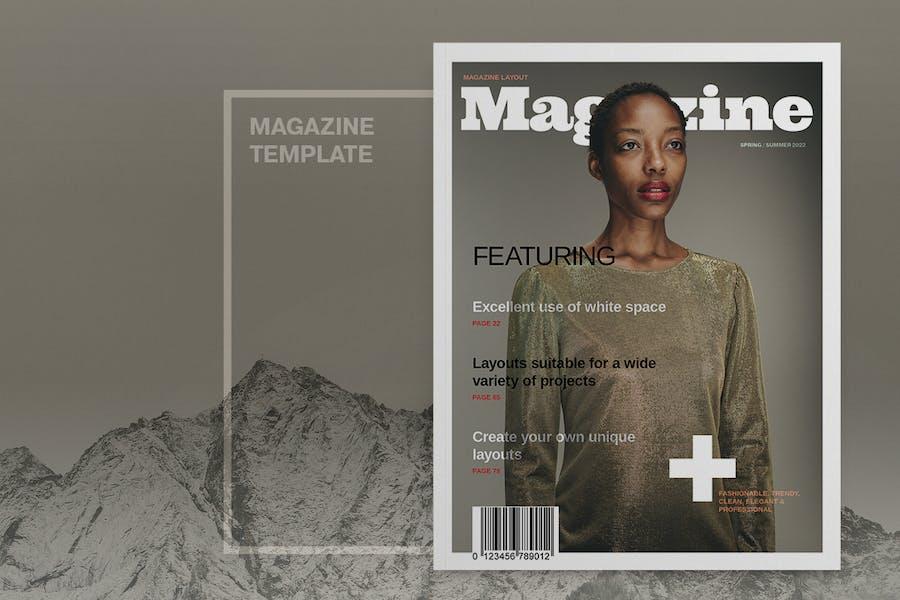 Fashion Magazine Layout Template
