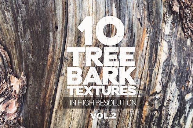 Tree Bark Textures x10 vol.2