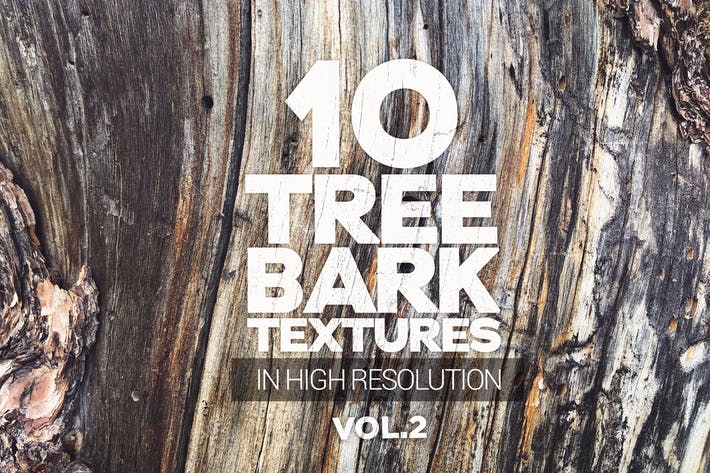 Cover Image For Tree Bark Textures x10 vol.2