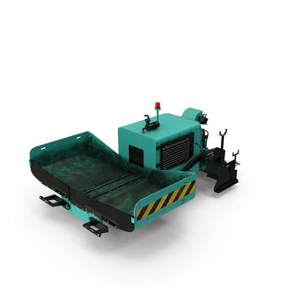 Asphalt-Pflasterung Maschine