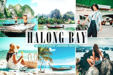Пресеты Lightroom для мобильных и настольных компьютеров Halong Bay