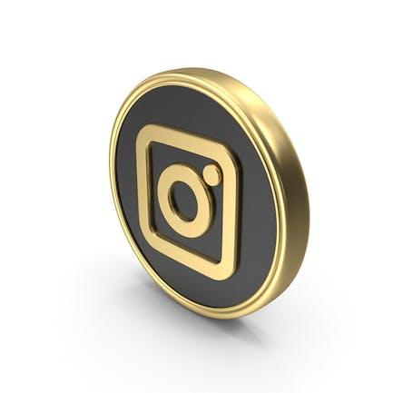 Social Media Instagram Coin Icon