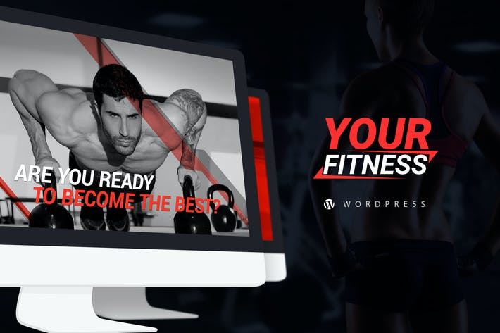 Thumbnail for YourFitness — Sport & Fitnes Blog WordPress Theme