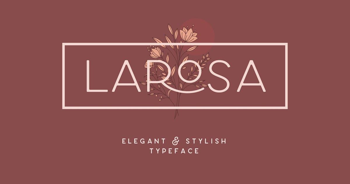 Download Larosa Sans Elegant Typeface by NEWFLIX