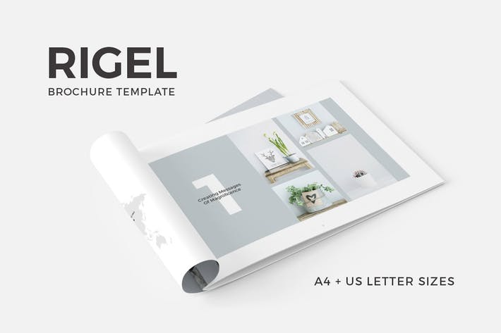 Cover Image For Rigel Brochure Template