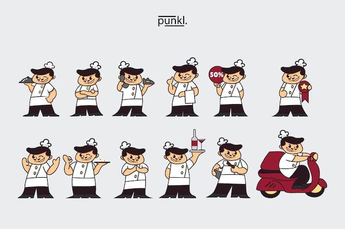 Thumbnail for ChefBistro Gestos Ilustración