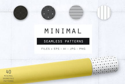 Patrones geométricos Minimalista
