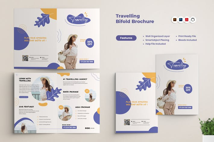 Travel Agency BiFold Brochure