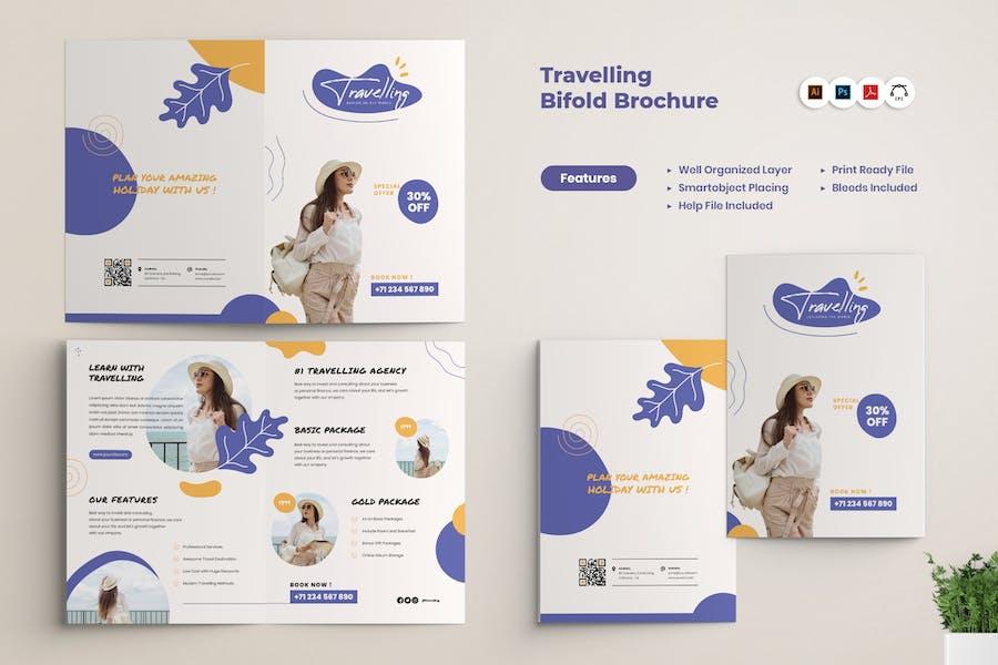 Travel Agency BiFold Brochure