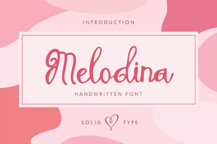 Thumbnail for Melodina Script