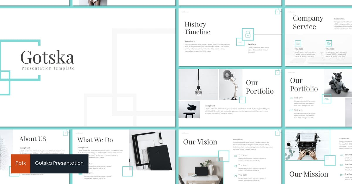 Download Gotska - Powerpoint Template by inspirasign