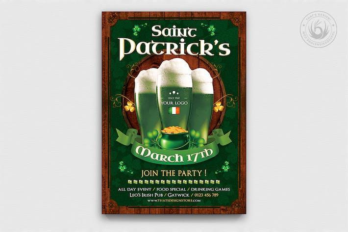 Thumbnail for Saint Patricks Day Flyer Template V8