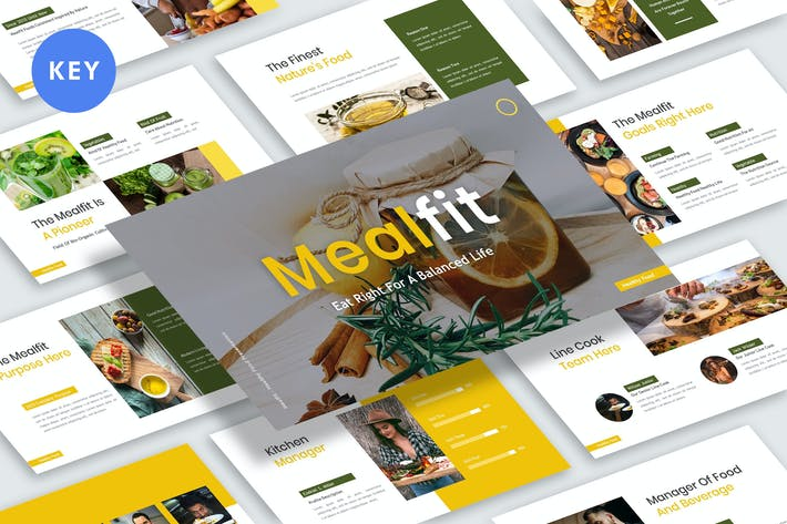 Thumbnail for Mealfit Presentation Keynote