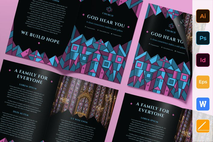 Thumbnail for Church Brochure Bifold