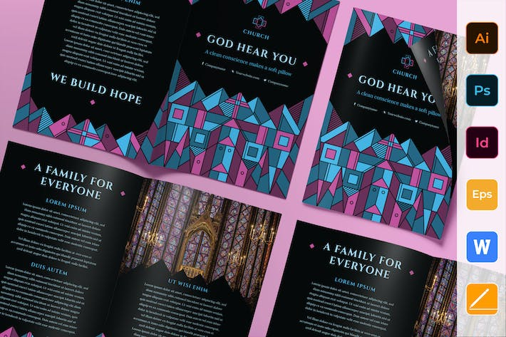 Cover Image For Church Brochure Bifold