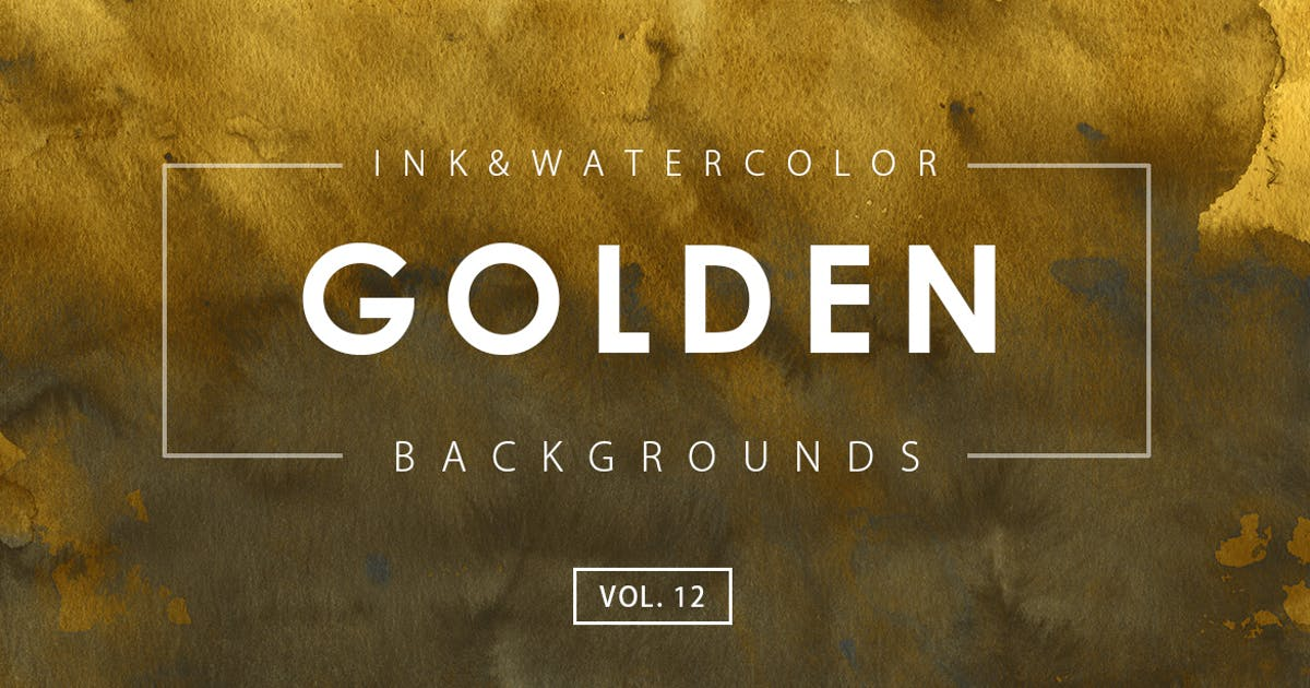 Download Golden Ink Backgrounds 12 by M-e-f