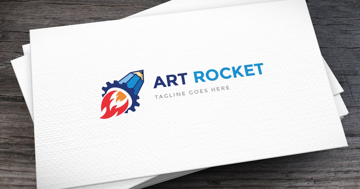 Download Art Rocket Logo Template by empativo