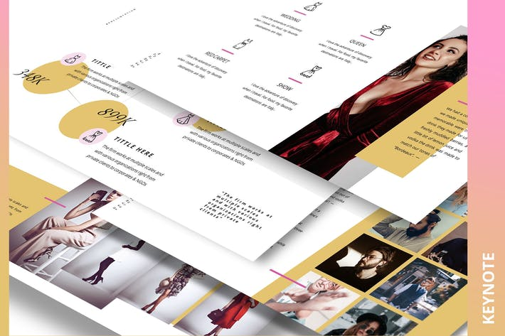 Thumbnail for Armwrestle Fashion Ecommerce Keynote