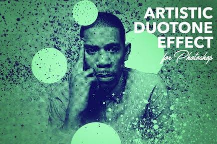 Artistic Duotone Effect - Photoshop Action